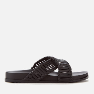 Melissa Women's Salinas Cosmic II Cross Front Sandals - Black