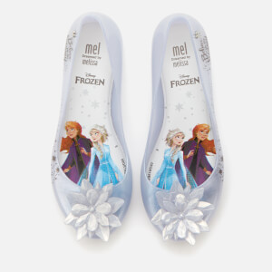 Mini Melissa Kids' Disney Frozen Ultragirl Ballet Flats - Iridescent Ice Flower