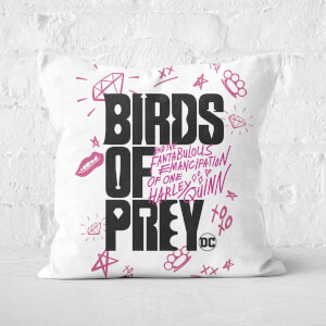 Birds of Prey Square Cushion