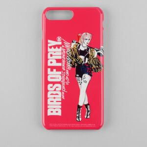 Funda móvil Birds of Prey Harley Quinn para iPhone y Android - Rojo/Blanco