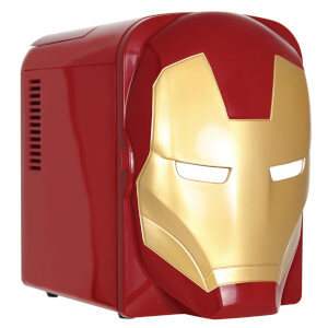 Marvel Iron-Man 4L Mini Fridge - US Plug