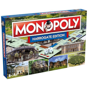 Monopoly Board Game - Harrogate Edition