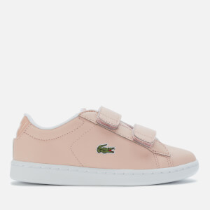 Lacoste Kids' Carnaby Evo Strap 120 Trainers - Natural/White