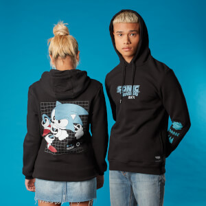 Sudadera capucha Sonic the Hedgehog Speed - Unisex - Negro