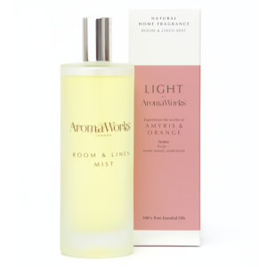 AromaWorks Light Range - Amyris and Orange Room Mist