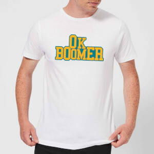 Ok Boomer College Men's T-Shirt - White