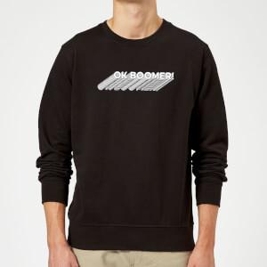 Ok Boomer Repeat Sweatshirt - Black