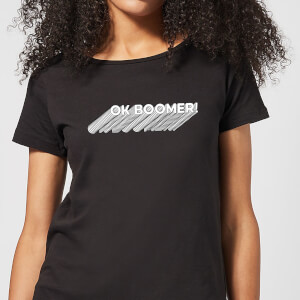Ok Boomer Repeat Women's T-Shirt - Black