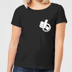 Ok Boomer Thumbs Up Women's T-Shirt - Black