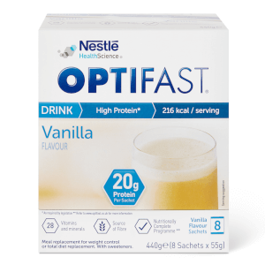 OPTIFAST Shakes - Vanilla - Box of 8