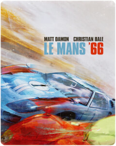 Exclusivité Zavvi : Steelbook Le Mans 66 4K Ultra HD (Blu-ray Inclus)