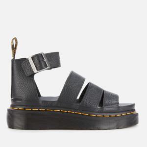 Dr. Martens Women's Clarissa II Quad Leather Sandals - Black
