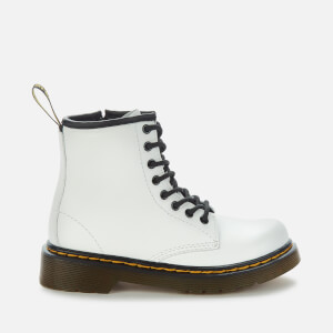 Dr. Martens Kids' 1460 J Lace Up Boots - White Rosario