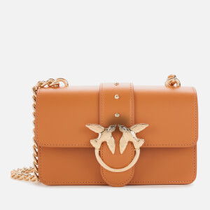 Pinko Women's Mini Love Shoulder Bag - Light Brown