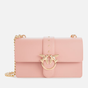 Pinko Women's Classic Love Shoulder Bag - Pink