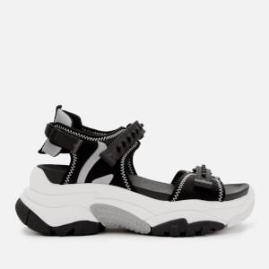 Ash Women's Adapt Chunky Sandals - Black/Silver