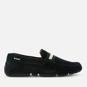 Bally Men's Pearce Driving Shoes - Blue Navy