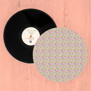 Watercolour Florals Turntable Slip Mat