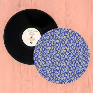 Coral Shapes Turntable Slip Mat