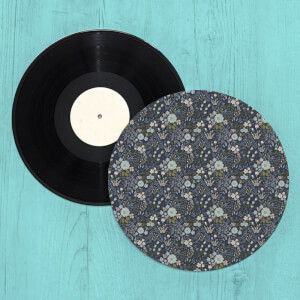 So Many Flowers Turntable Slip Mat