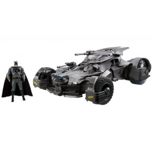 Mattel DC Comics Justice League Super Deluxe 1:10 R/C Batmobile & Figure 64cm