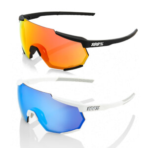 100% Racetrap Sunglasses with HiPER Multiplayer Mirror Lens