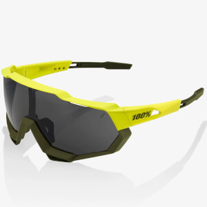 100% Speedtrap Sunglasses with Black Mirror Lens