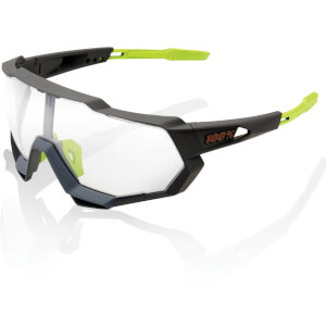 100% Speedtrap Sunglasses with Photochromic Lens