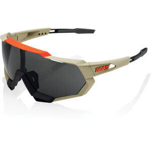 100% Speedtrap Sunglasses with Smoke Lens