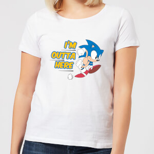 I'm Outta Here Women's T-Shirt - White