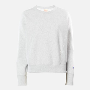Champion Women's Tonal Script Sweatshirt - Grey Heather