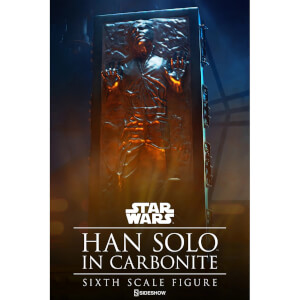 Sideshow Collectibles Star Wars The Empire Strikes Back Han Solo In Carbonite 1:6 Scale Figure