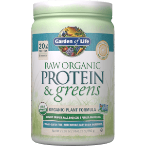 Raw Organic Protein and Greens - Lightly Sweet - 651g