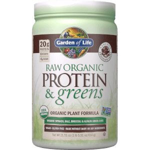 Raw Organic Protein and Greens - Chocolate