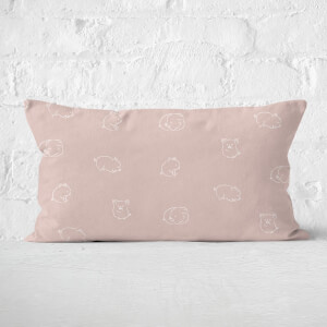 Pigs Rectangular Cushion