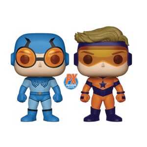 Figurine Pop! Blue Beetle & Beetle Gold 2-Pack EXC - DC Comics