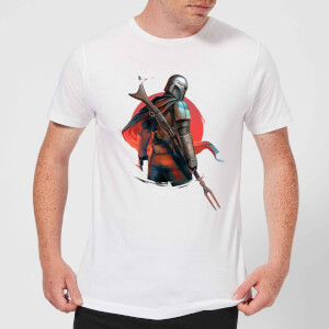 Camiseta The Mandalorian Blaster Rifles - Hombre - Blanco