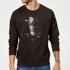 The Mandalorian IG-11 Poster Sweatshirt - Black