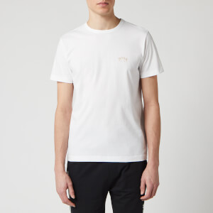 BOSS Hugo Boss Men's Tee Curved T-Shirt - Open White
