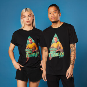 Star Trek - T-shirt Trouble With Tribbles - Noir - Unisexe