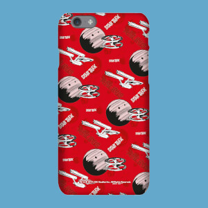 Cover telefono Red Retro Star Trek per iPhone e Android