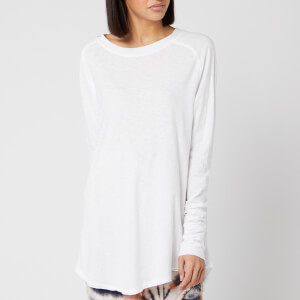 Free People Women's Arden Long Sleeve T-Shirt - White