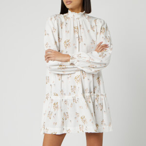 Free People Women's Petit Fours Mini Dress - Ivory
