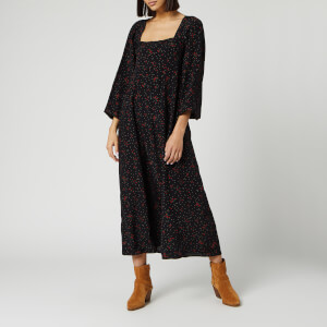 Free People Women's Iris Midi Dress - Black