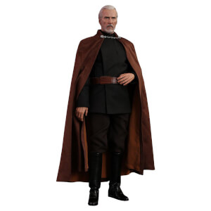 Hot Toys Star Wars Episode II Movie Masterpiece Action Figure 1/6 Count Dooku 33 cm