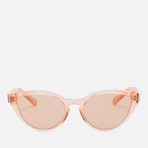 Chloé Women's Cat Eye Frame Acetate Sunglasses - Coral