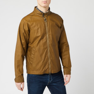 Barbour Men's Ender Wax Jacket - Sand