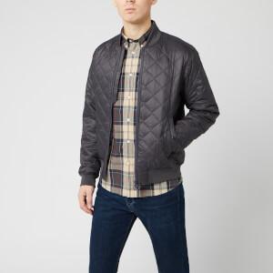 Barbour Men's Gabble Quilt Jacket - Charcoal