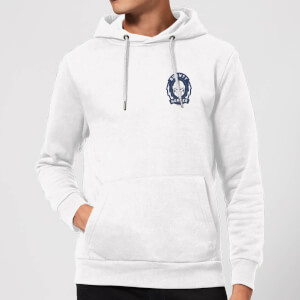 Sudadera capucha The Mandalorian Bounty Hunter - Blanco