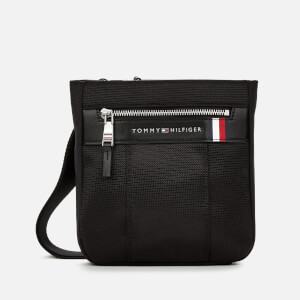 Tommy Hilfiger Men's Elevated Nylon Mini Crossover Bag - Black